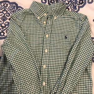 Boys Ralph Lauren dress shirt size M 10-12